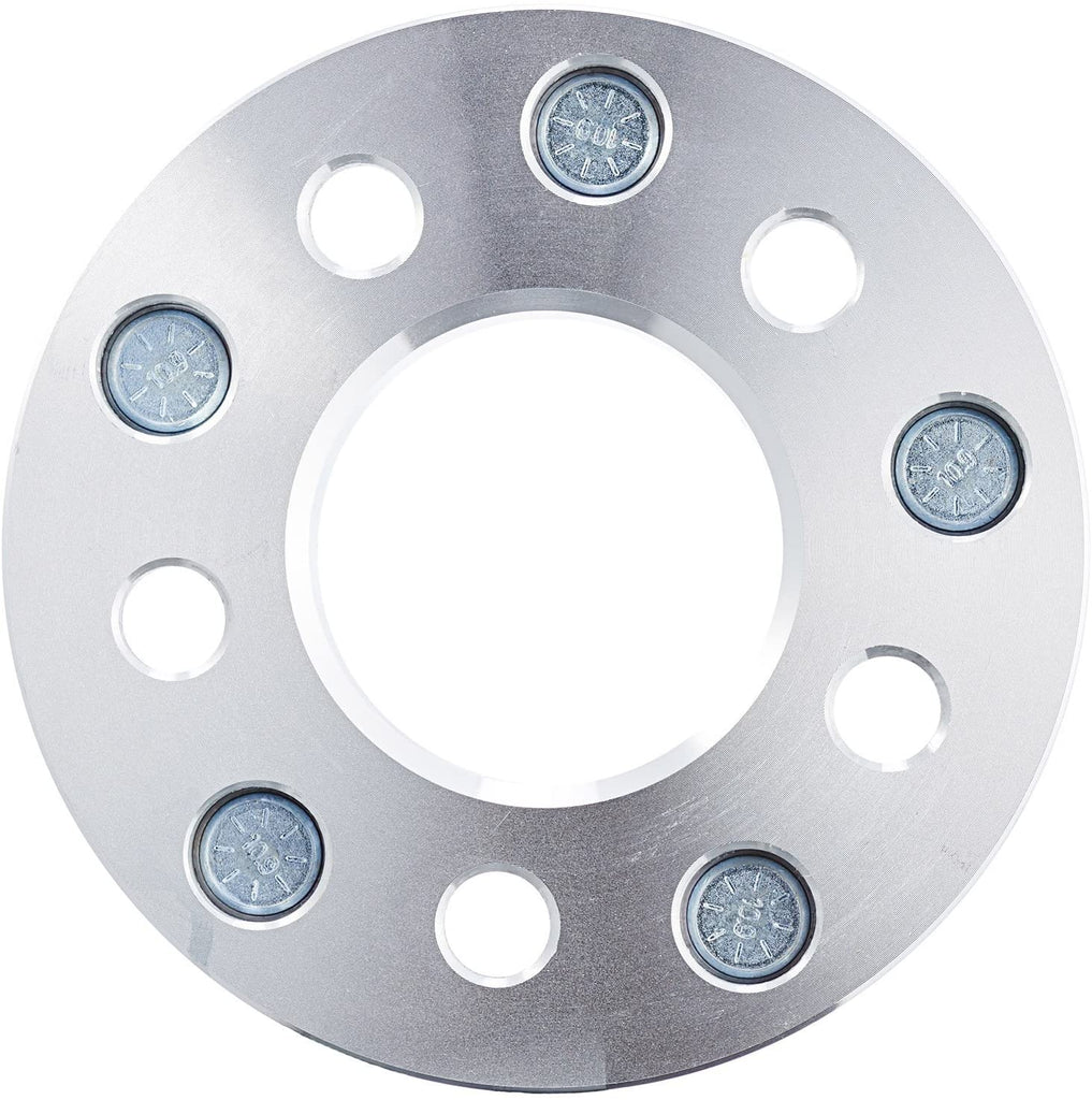 2pcs 5x4.5'' Wheel Spacers 1.25 inches with M1/2x20'' Studs - Kaiezen