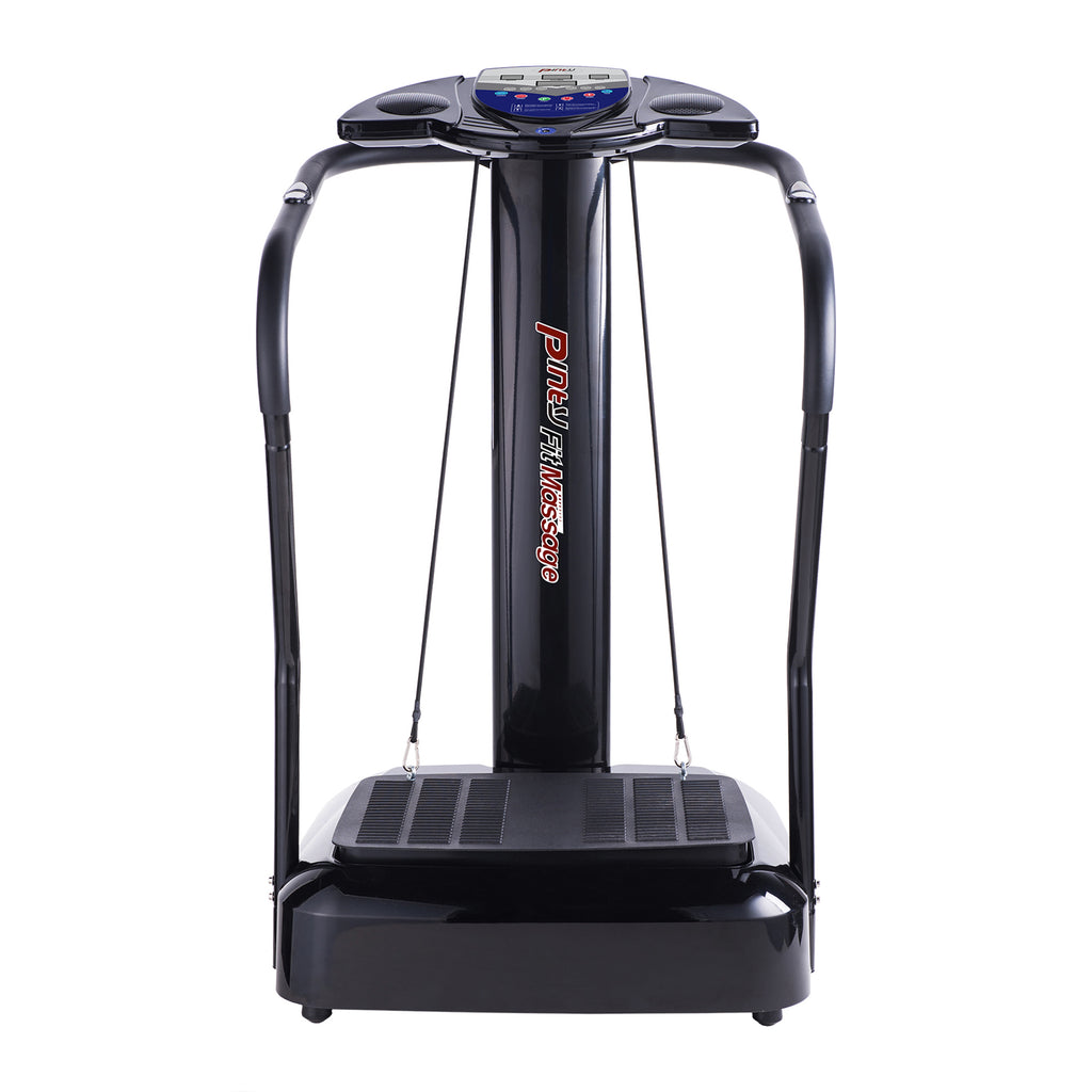 2000W Black Whole Body Slim Crazy Fit Massager Vibration Platform Fitness Machine - Kaiezen