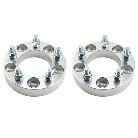 2pcs 5x4.75 Wheel Spacers 1.25 inches with M12x1.5 Studs - Kaiezen