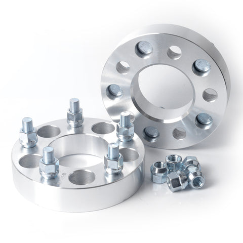 2pcs 5x4.5 to 5x4.75 Wheel Spacers 1.25 inches with 1/2-20 Studs - Kaiezen