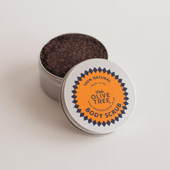 Coffee Body Scrub The Little Olive Tree