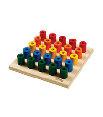 Little and Loved Build Up Peg Board