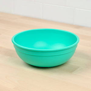 Re-Play Bowl - Large | Bear & Moo | Bear and Moo | Hamilton, New Zealand | bowl | feed baby | baby food | tableware | dinner | recycled plastic | reusable | cloth nappies | environmentally friendly | save money | good for the environment | sustainable living | waste free | Re-Play Bowl - Large