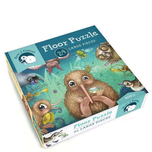 Kuwi's Rowdy Crowd - 24 piece Floor Puzzle