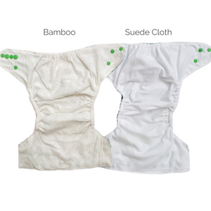 Green Tractors | Bear & Moo | Bear and Moo | Hamilton, New Zealand | bright | cloth nappy | reusable nappies | modern cloth nappies | solid colour | environmentally friendly | save money | bamboo inner | good for the environment | alternative to disposables | sustainable living | waste free | Green Tractors