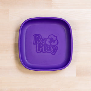 Re-Play Flat Plate - Standard | Bear & Moo | Bear and Moo | Hamilton, New Zealand | plate | feed baby | baby food | tableware | dinner | recycled plastic | reusable | cloth nappies | environmentally friendly | save money | good for the environment | sustainable living | waste free | Re-Play Flat Plate - Standard