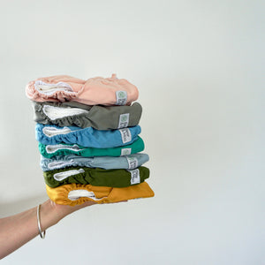 Mustard | Bear & Moo | Bear and Moo | Hamilton, New Zealand | fruit | bright | cloth nappy | reusable nappies | modern cloth nappies | soli colour | environmentally friendly | save money | bamboo inner | good for the environment | alternative to disposables | sustainable living | waste free | Mustard