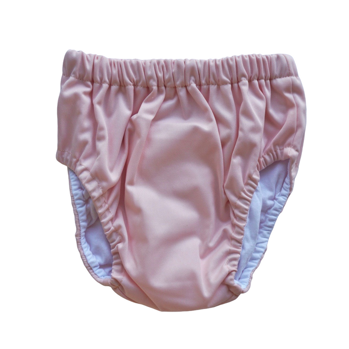 Dusky Pink Training Nappy | Bear & Moo | Bear and Moo | Hamilton, New Zealand | cloth nappy | reusable pull up nappy | modern cloth nappies | environmentally friendly | save money | suede | good for the environment | alternative to disposables | sustainable living | waste free | Dusky Pink Training Nappy