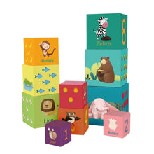 Classic World Forest Animal Stacking Cubes