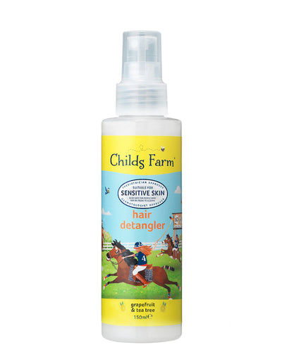 Childs Farm Hair Detangler - Grapefruit & Tea Tree | Bear & Moo | Bear and Moo | Hamilton, New Zealand | natural haircare | skincare | moisturiser | shampoo | body wash | bubble bath | vegan | cloth nappies | environmentally friendly | save money | good for the environment | sustainable living | waste free | Childs Farm Hair Detangler - Grapefruit & Tea Tree