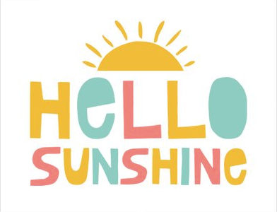 Greeting Card - Hello Sunshine