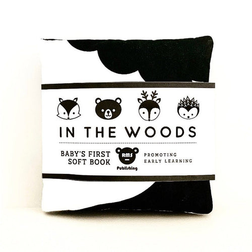 Baby's First Soft Book | Bear & Moo | Bear and Moo | Hamilton, New Zealand | NZ Book | kids books | quiet book | play | black and white | cloth nappies | environmentally friendly | save money | good for the environment | sustainable living | waste free | Baby's First Soft Book
