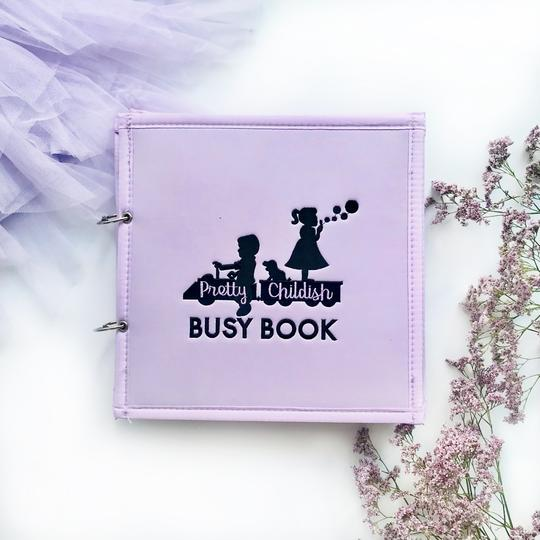 The 'Little Lilac' 5 Page Busy Book (Limited Edition)