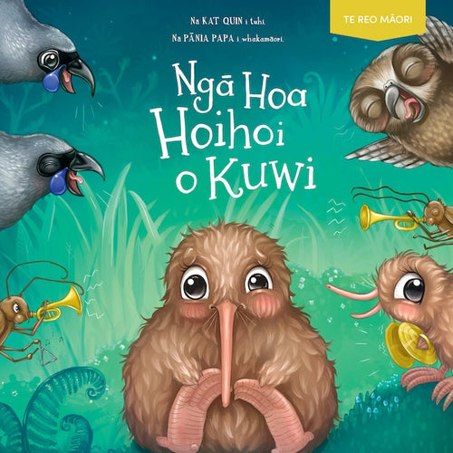 Ngā Hoa Hoihoi o Kuwi | Bear & Moo | Bear and Moo | Hamilton, New Zealand | NZ Book | kids books | Kat Merewether | play | cloth nappies | environmentally friendly | save money | good for the environment | sustainable living | waste free | Ngā Hoa Hoihoi o Kuwi
