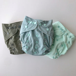Duck Egg | Bear & Moo | Bear and Moo | Hamilton, New Zealand | fruit | bright | cloth nappy | reusable nappies | modern cloth nappies | soli colour | environmentally friendly | save money | bamboo inner | good for the environment | alternative to disposables | sustainable living | waste free | Duck Egg