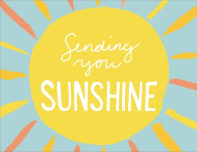 Greeting Card - Sending You Sunshine