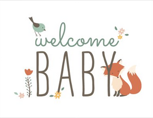 Greeting Card - Welcome Baby