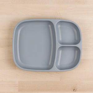 Re-Play Divided Tray | Bear & Moo | Bear and Moo | Hamilton, New Zealand | plate | feed baby | baby food | tableware | dinner | recycled plastic | reusable | cloth nappies | environmentally friendly | save money | good for the environment | sustainable living | waste free | Re-Play Divided Tray