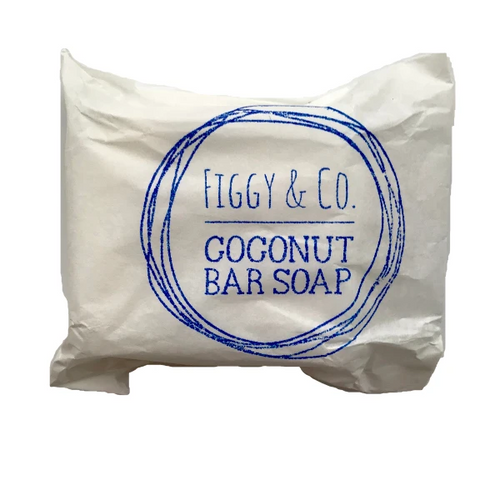 Figgy & Co Coconut Bar Soap | Bear & Moo | Bear and Moo | Hamilton, New Zealand | cloth nappy stain remover | cloth nappy | reusable nappies | modern cloth nappies | environmentally friendly | save money | good for the environment | sustainable living | waste free | Figgy & Co Coconut Bar Soap