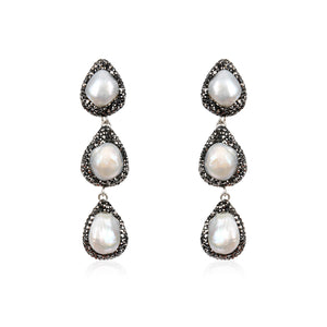 Baroque Drops Earring