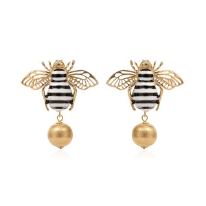 Bee Drop Earring