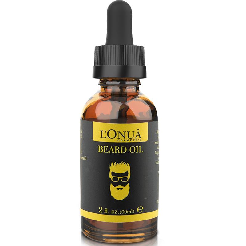Beard Oil Unscented Fragrance Free - 2 oz