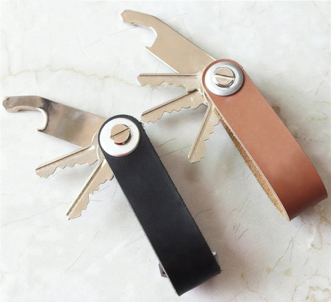 Leather Smart Key Holder