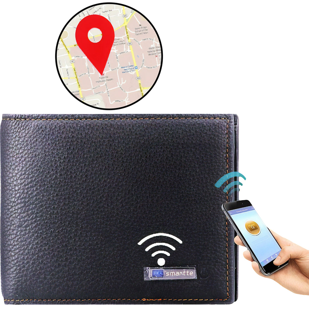 Bluetooth Trackable Wallet - Mad Man by Mad Style Wholesale