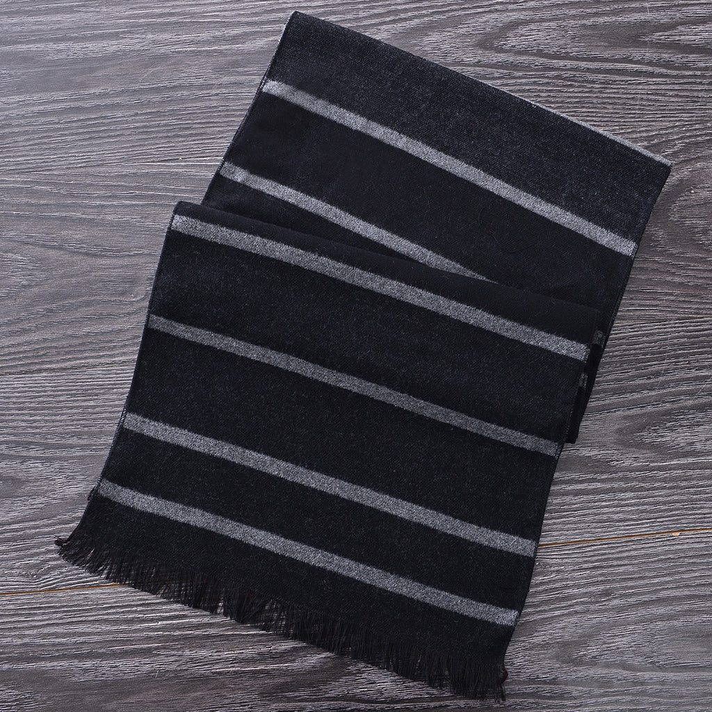 Heritage Scarf Grey/Black (Reverse Side) by Mad Style Wholesale