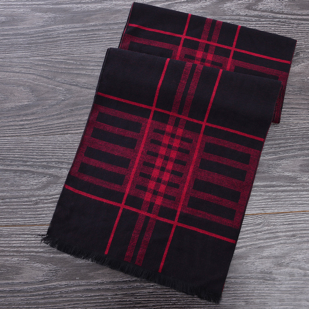 Heritage Scarf Red/Black by Mad Style Wholesale