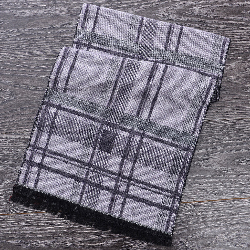 Heritage Scarf Grey (Reverse Side) by Mad Style Wholesale