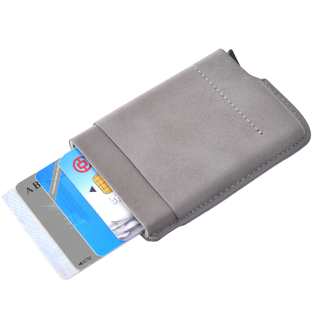 Card Blocker RFID Auto Wallet Grey by Mad Style Wholesale
