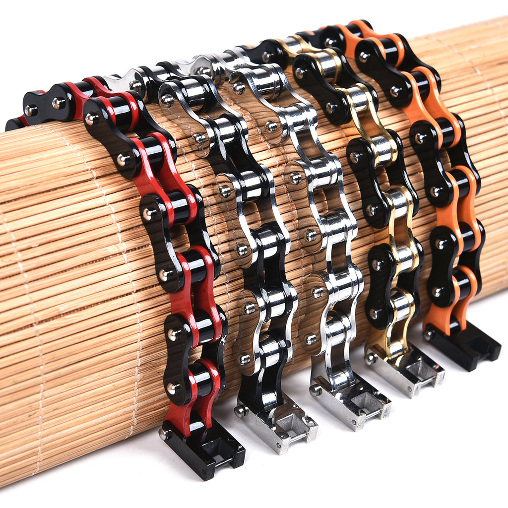 Dakata Stainless Bike Chain Bracelet Mad Man by Mad Style Wholesale