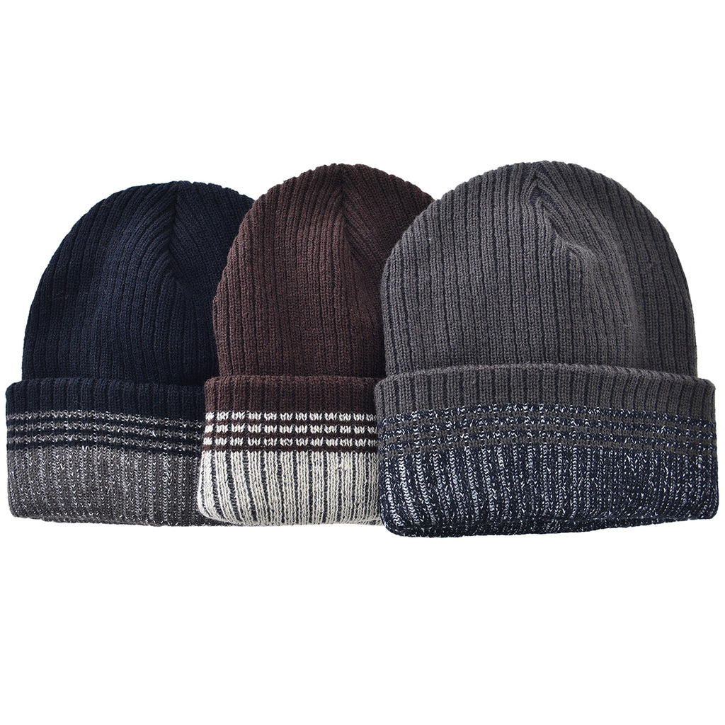 Stripped Toboggan Mad Man by Mad Style Wholesale