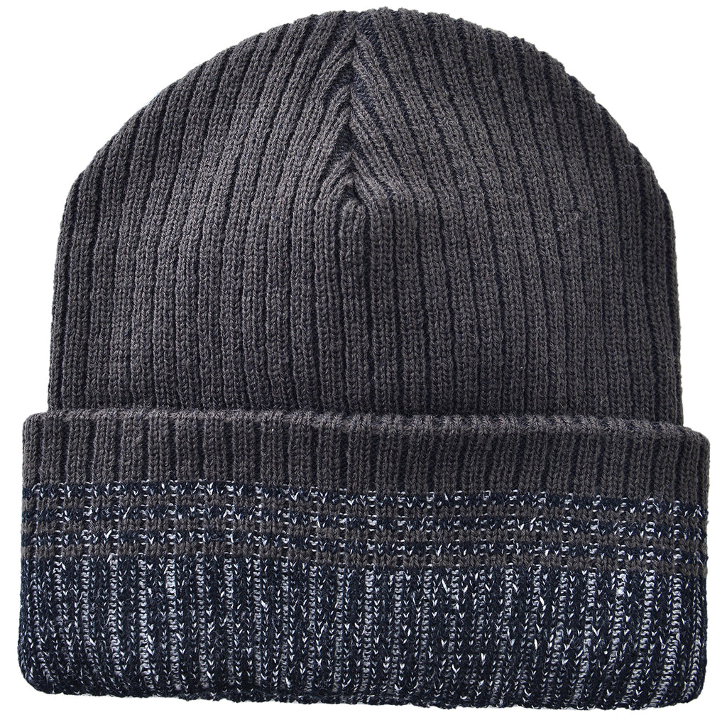 Stripped Toboggan Grey by Mad Style Wholesale