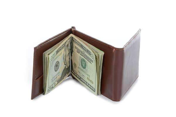 3 Fold Money Clip Wallet,Wallets and Clips,Mad Man, by Mad Style