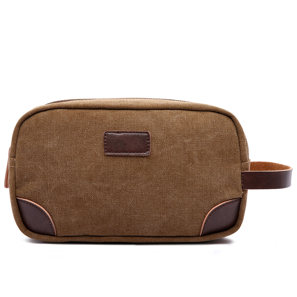 Canvas and Leather Dopp