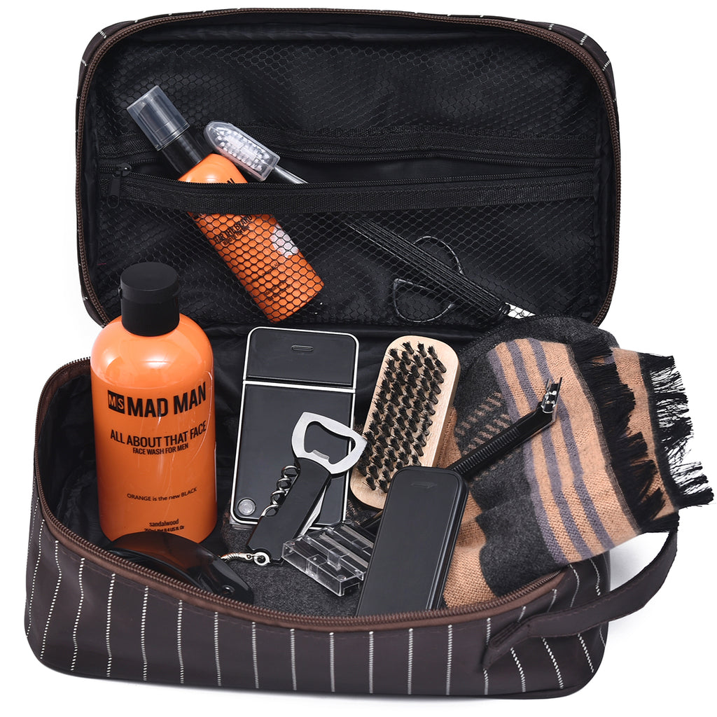 Men's Travel Dopp Kit - Travel Gear - Mad Man by Mad Style Wholesale
