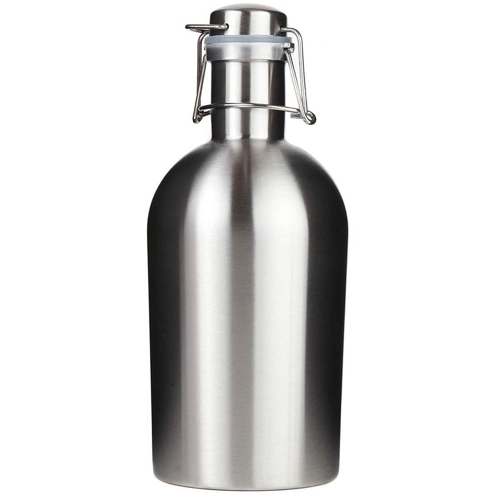 Men's Stainless Steel Beer Growler Mad Man by Mad Style Wholesale