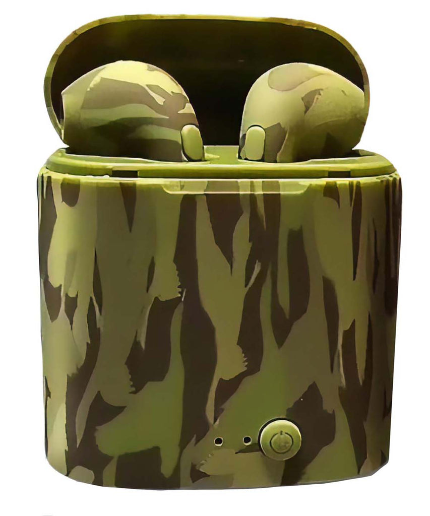Men's Camo Wireless Earbuds Mad Man by Mad Style Wholesale
