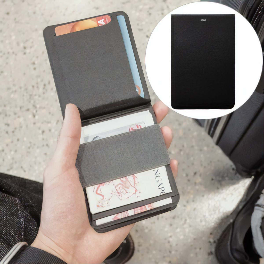Men's Modular Magnetic RFID Wallet