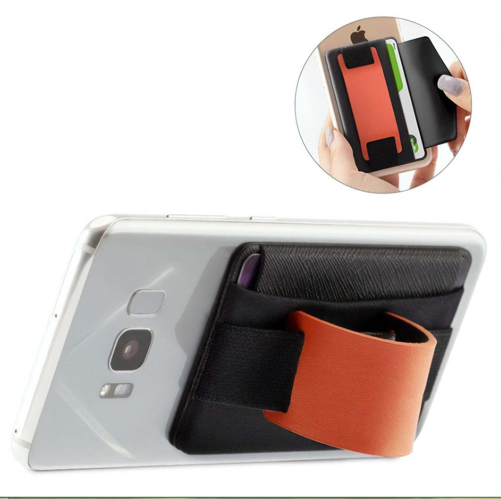 Men's Wide Band Phone Wallet, Grip and Stand Mad Man by Mad Style Wholesale