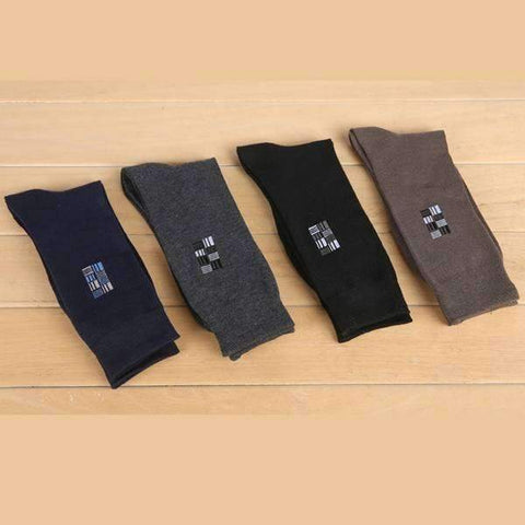 4 Pair Deco Frame Socks