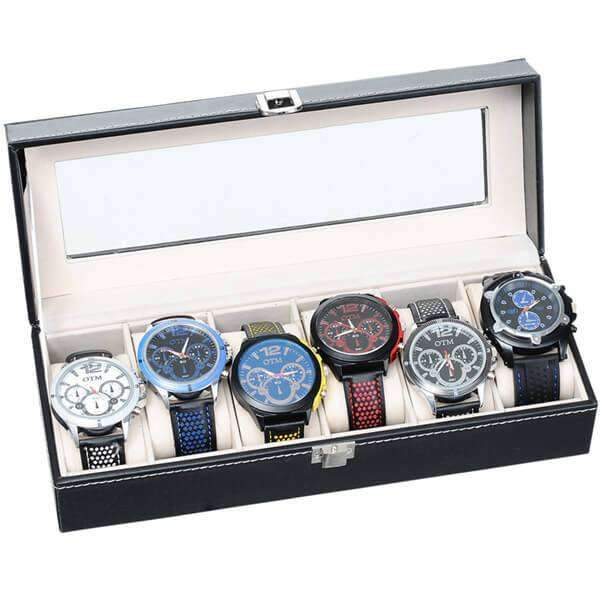 6 Piece Watch Case,Watches,Mad Man, by Mad Style