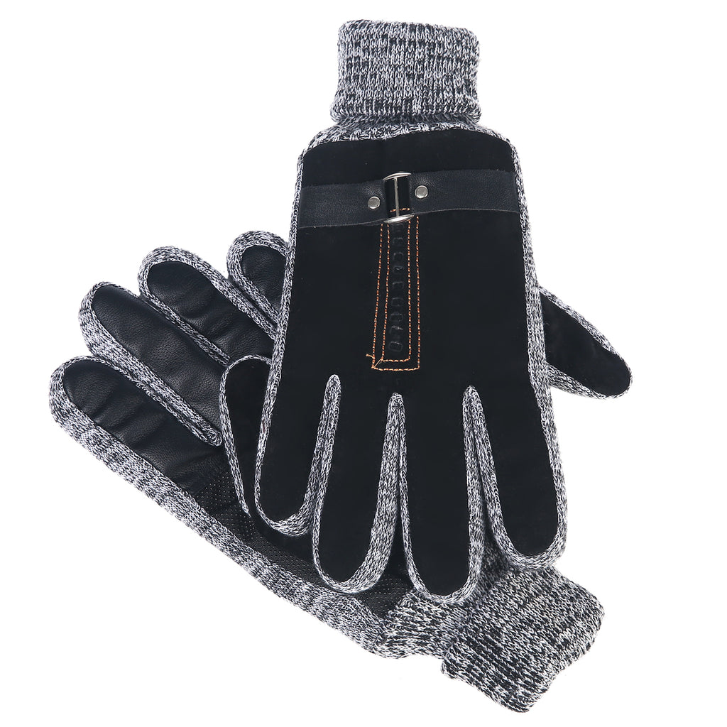 Suede Oscar Gloves Black by Mad Style Wholesale