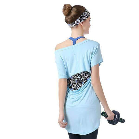 Activewear Open Back T
