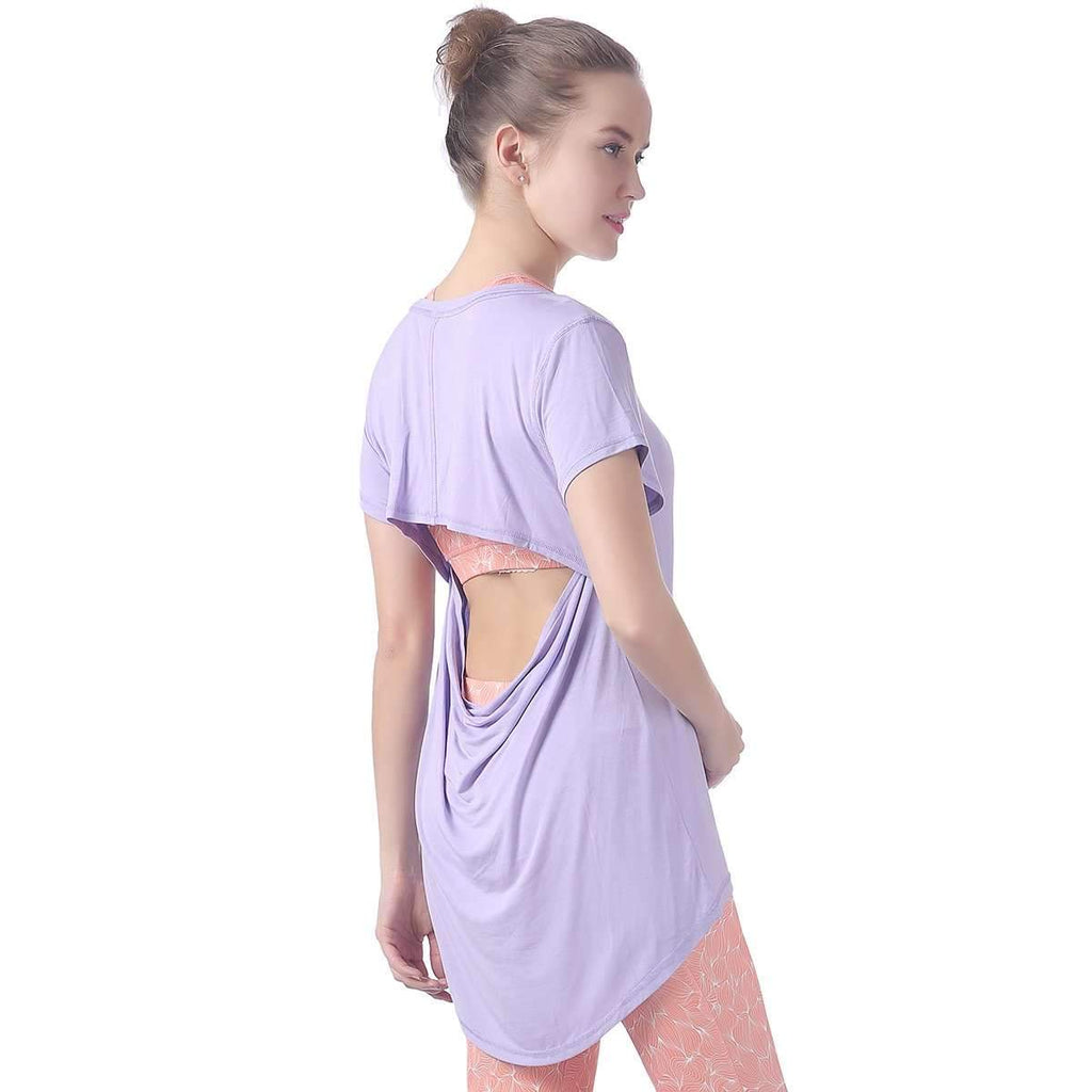 Activewear Open Back T,Womens,Mad Style, by Mad Style