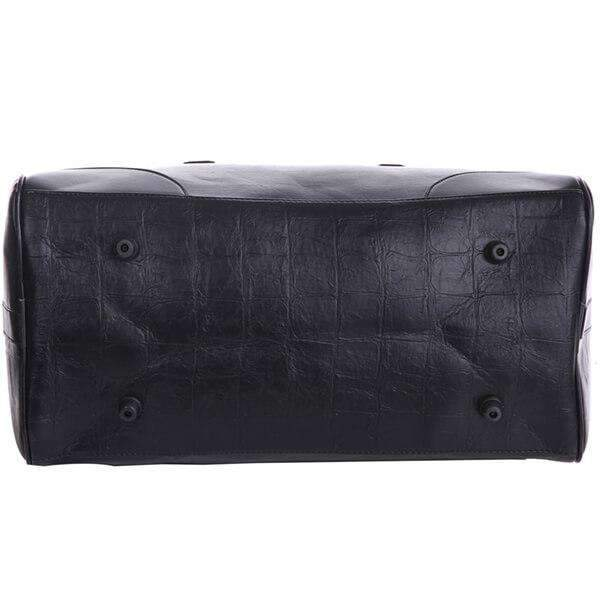 Black Oxford Men's Duffel Bag,Bags,Mad Man, by Mad Style