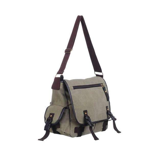 Canvas Messenger Bag,Bags,Mad Man, by Mad Style