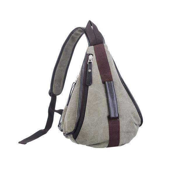 Canvas Sling Backpack,Bags,Mad Man, by Mad Style